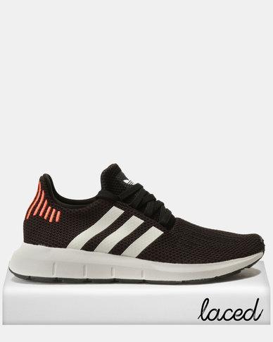 e13df9ad6 adidas Swift Run Sneakers Black White