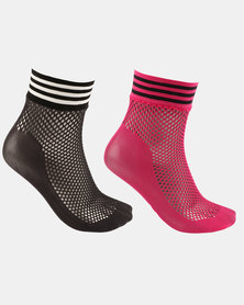 adidas Originals Mesh Socks 2pp Multi