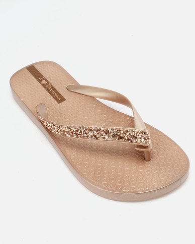 e12e741e6 Ipanema Glam Special Flip Flops Rose Gold