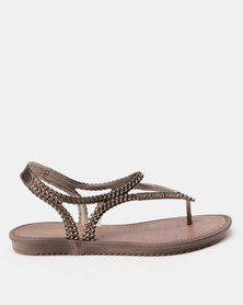 Grendha Riviera III Sandals Fem Purple