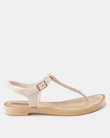 Grendha Romantic II Sandals Fem Beige