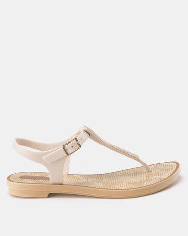 66f6c6f0289 Grendha Romantic II Sandals Fem Beige