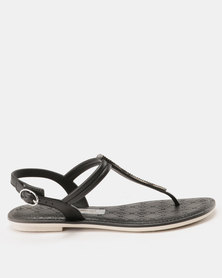 Grendha Sense Sandals Fem Black
