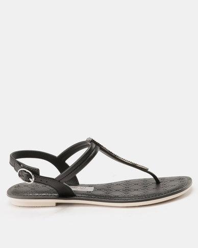 8e2b5b4ee Grendha Sense Sandals Fem Black