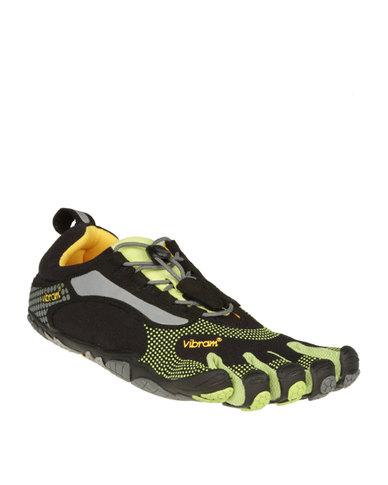 official photos 14c7d a3100 Vibram Fivefingers Bikila Outdoor Shoes Black and Green   Zando