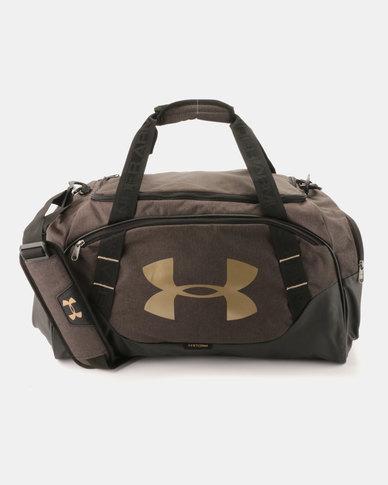 a82857a728123e Under Armour Undeniable Duffle Bag 3.0 Black/Gold | Zando