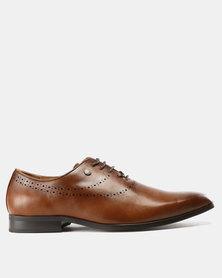 Mazerata Grazie 39 Wax Shoes Tan