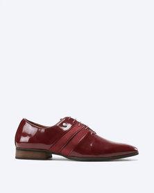 Mazerata Magio 44 Lace Up Shoes Burgundy
