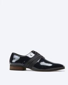 Mazerata Magio 44 Lace Up Shoes Navy