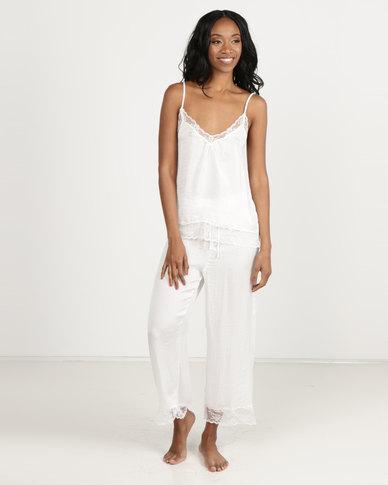 Women'secret Sense Pyjamas Ivory