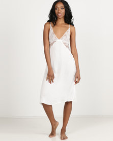 Women'secret Feminine Pyjamas White