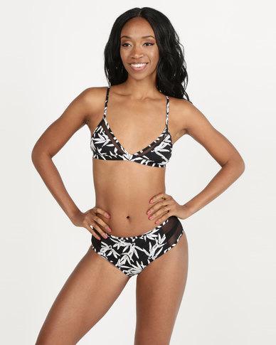 Women'secret Collection Swimwear Top Black