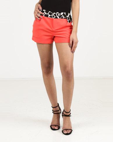 Utopia Formal Shorts Orange