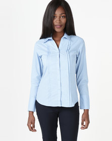 Utopia Vogue Blouse Sky Blue