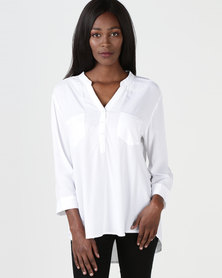 Utopia Oasis Blouse White