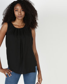 Utopia Lotus Blouse Black