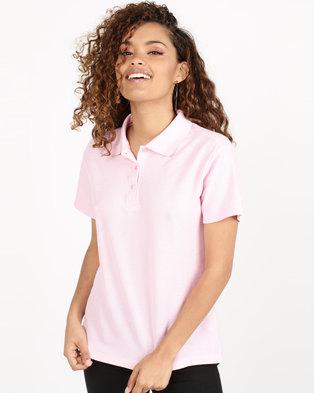Utopia Pique Polo Pink