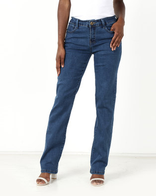 Utopia Eve Basic Jeans Blue