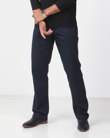 Utopia Relaxed Fit Brushed Twill 5 Pocket Navy