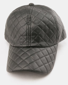 Utopia Quilt Cap Black