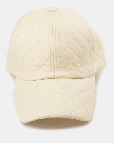 Utopia Quilt Cap Cream