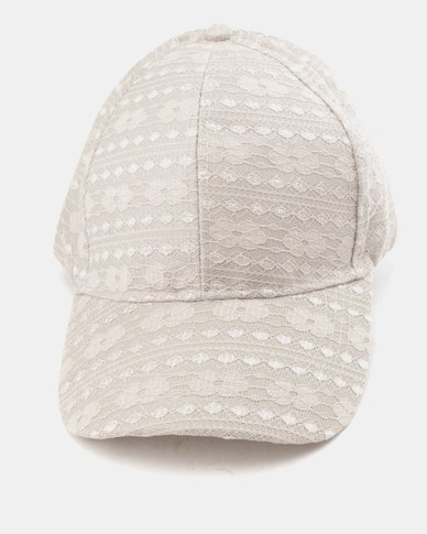 Utopia Lace Cap Grey