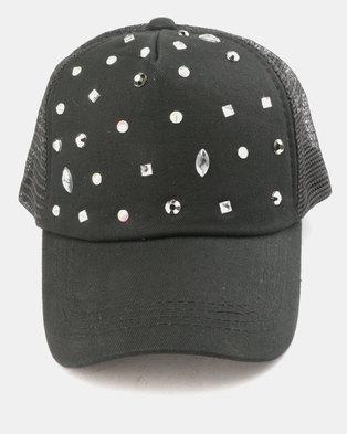 Utopia Jewel Cap Black