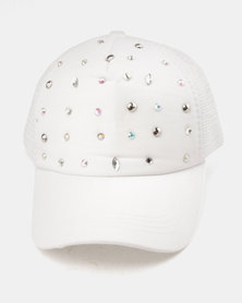 Utopia Jewel Cap White