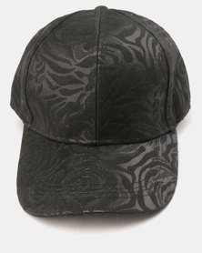 Utopia Rose Cap Black
