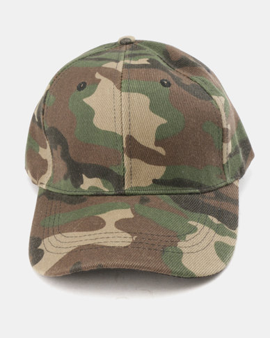 Utopia Camo Cap Green