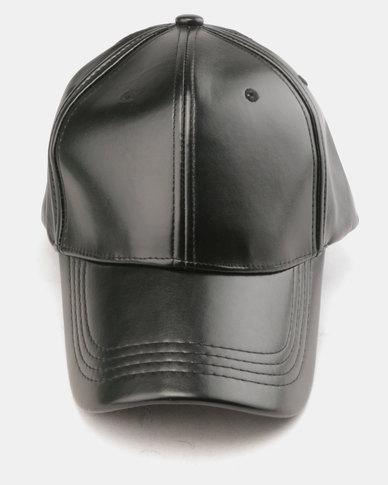 Utopia Metallic Cap Black