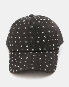 Utopia Studded Cap Black