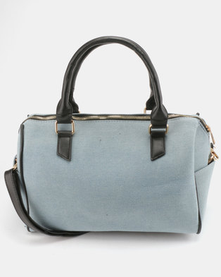 da77f2251b Utopia Denim Weekender Bag Light Blue