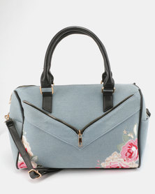 Utopia Denim Weekender Bag Light Blue