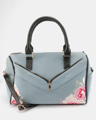 Utopia Denim Weekender Bag Light Blue