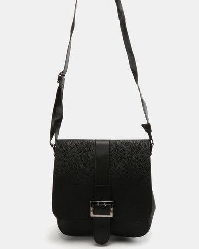 Utopia Buckle Bag Black