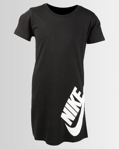c885b4ba4de9 Nike Girls NSW T-shirt Dress Black