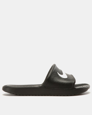 53476be91 Nike Kawa Shower (GS) Slip On's Black/White | Zando