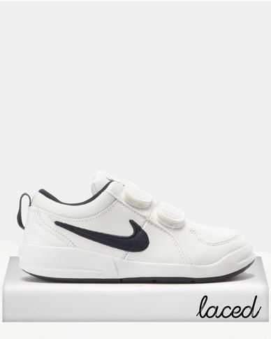 Nike Pico 4 (PSV) Sneakers White Navy  a0007f9680d