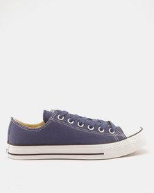 Soviet Viper Fashion Basic Canvas Low Cut Lace Ups Prussian Blue