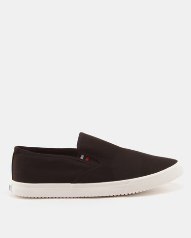 Soviet Felix Canvas Slip Ons Black