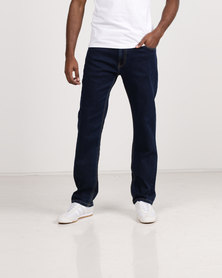 Polo Mens Simon Straight Leg Jeans Indigo
