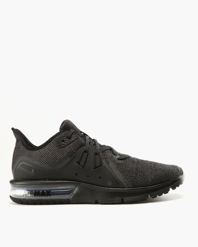 new style 3ec2d 6432c Nike Performance Nike Air Max Sequent 3 Black  Zando