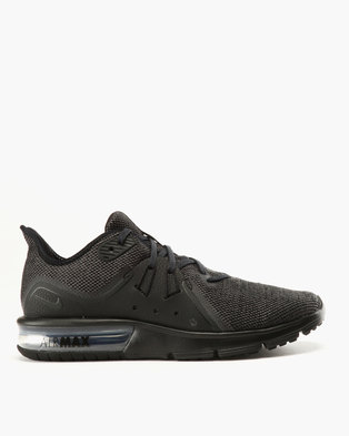 buy popular 2f068 6b340 ... Nike Performance Nike Air Max Sequent 3 Black ...