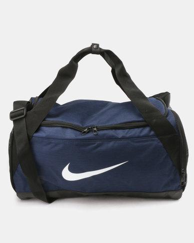 37c3a3e13f74 Nike Performance NK BRSLA M Duffel Bag Navy Black