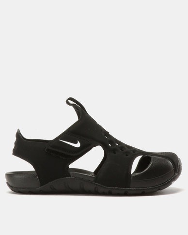 2bfeb6624 Nike Kids Sunray 2 Protect Sandals Black