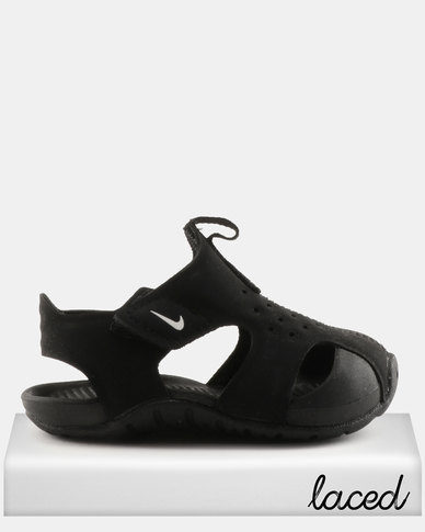 f41f8795ade0b6 Nike Sunray Protect 2 Sandals Black White