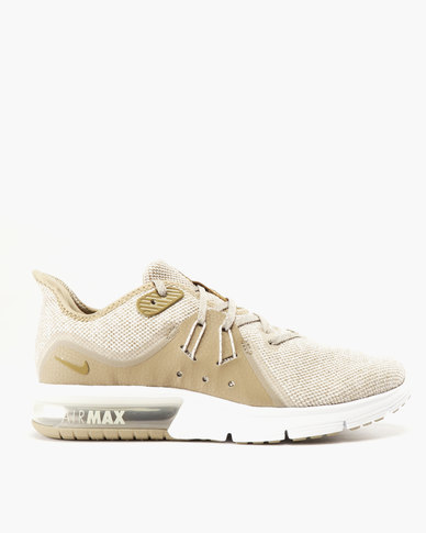 b7ab8d36d49 Nike Performance Nike Air Max Sequent 3 Sneaker Desert Sand/Lichen  Brown-Khaki | Zando