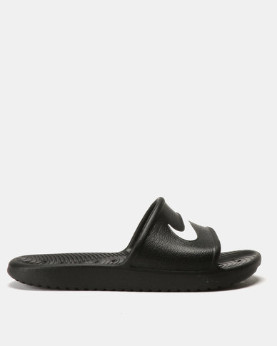 Nike Wmn S Kawa Shower Slides Black/ White