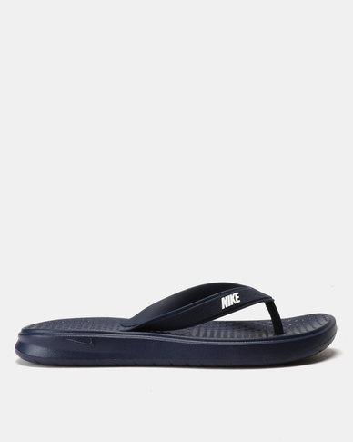 12f8f223381cf2 Nike Solay Thongs Binary Blue White